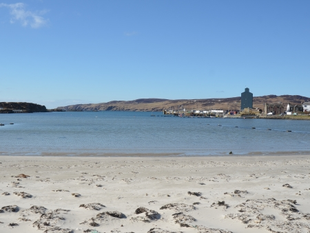 A view of Port Ellen, Islay