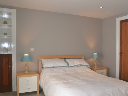 Double Room with en-suite bathroom facilities in The Lodge, Islay