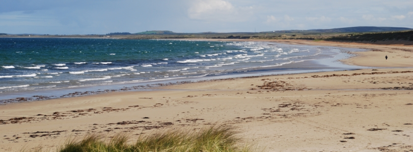 The Lodge - Islay - a stunning view of the Big Strand